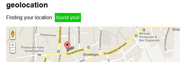 HTML5 Geolocation kennt deine exakte Position ohne GPS