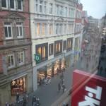 Braunschweig: Blick aus Shopping-Tempel TK Maxx in die Innenstadt.