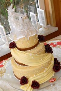Unsere Hochzeitstorte, YEY fantastico!!