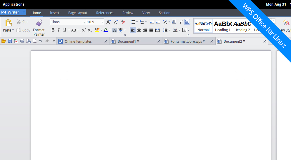 Das bessere LibreOffice? WPS Office für Linux
