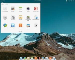 Linux Elementary, Desktop Pantheon