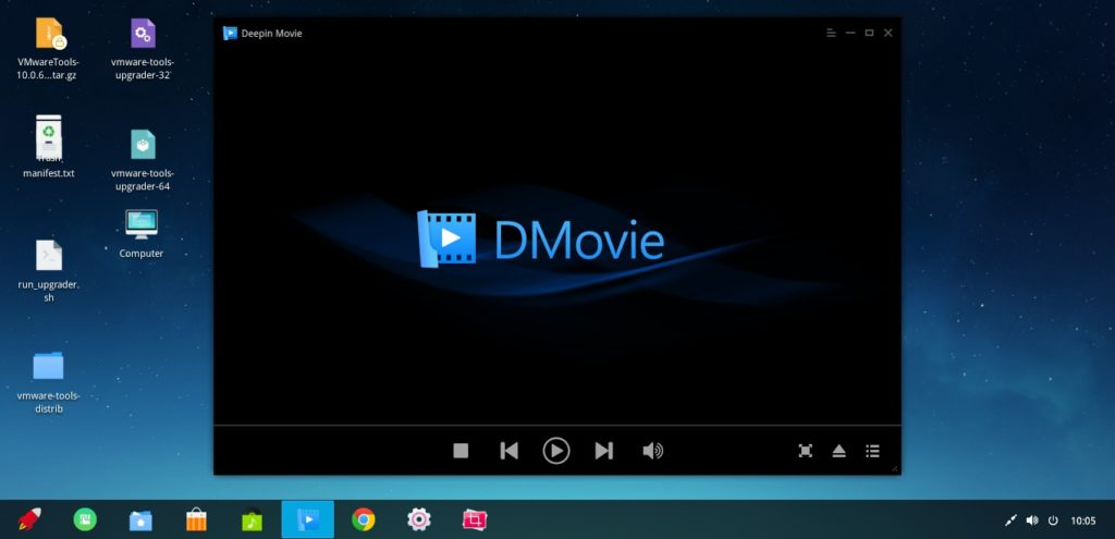 Deepin Movie