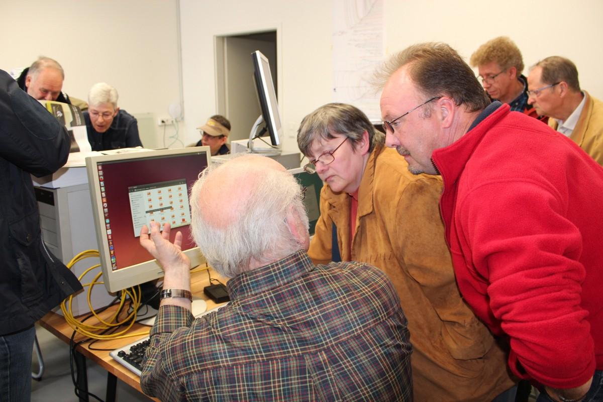 Zu viele Besucher! Der Linux Presentation Day Braunschweig war extrem gut besucht