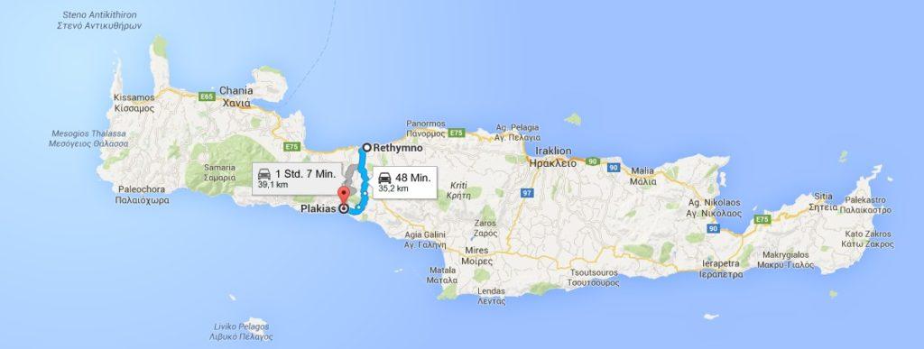 Der Weg zur Schnellstraße im Norden dauert pro Weg 48 Minuten, für einen Tagesausflug ein grosser Zeitverlust.