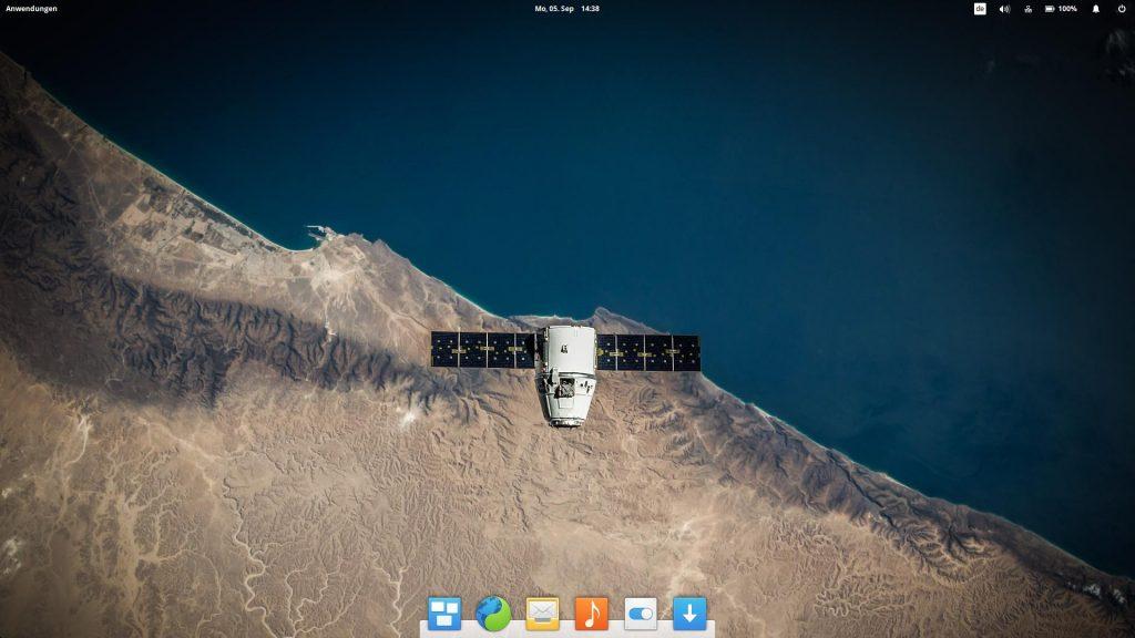 Vielleicht ist dieses Bild das neue, offizielle Hintergrundbild zu elementaryOS 0.4 Loki. Das zeigt sich am 9.9.2016.