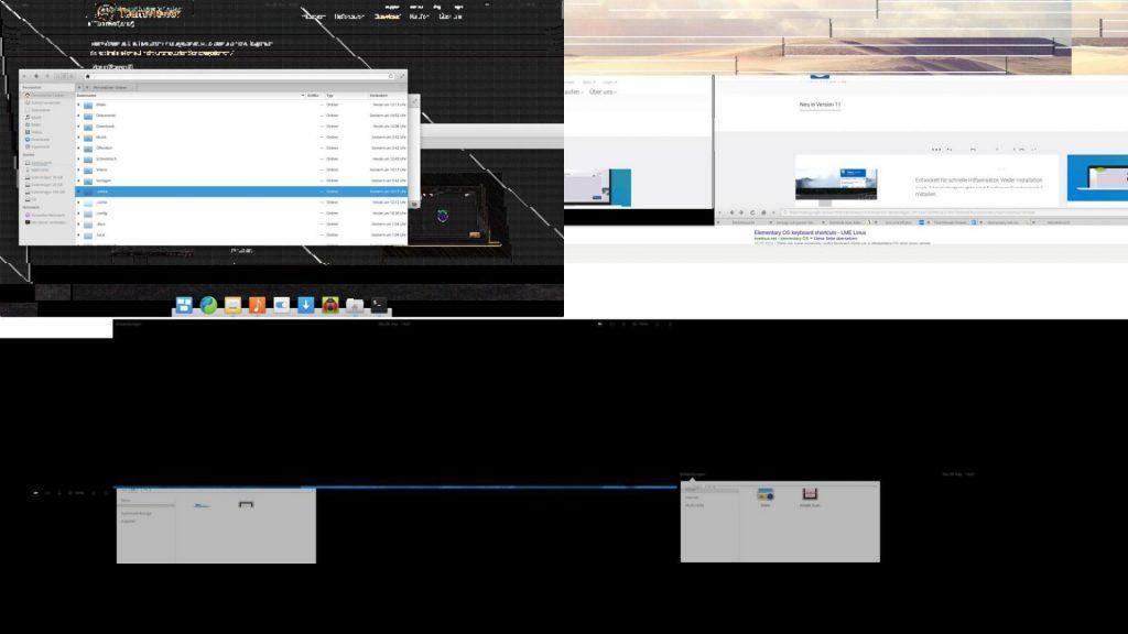 Verbuggt wie vieles: Die Screenshot-Funktion bei 4K-Auflösung. Früher hat das funktioniert!